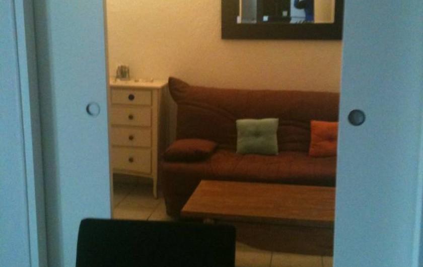 Location de vacances - Appartement à Toulon - 2èmeCHAMBRE  ou SALON