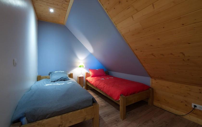 Location de vacances - Chalet à Fontcouverte-la-Toussuire - Chambre