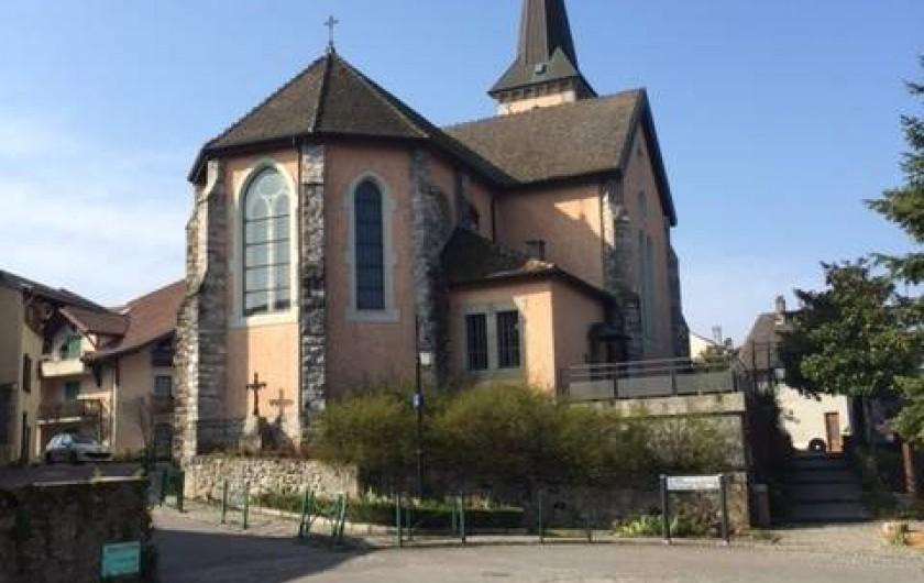 Location de vacances - Chalet à Anthy-sur-Léman - Eglise d'Anthy sur Léman