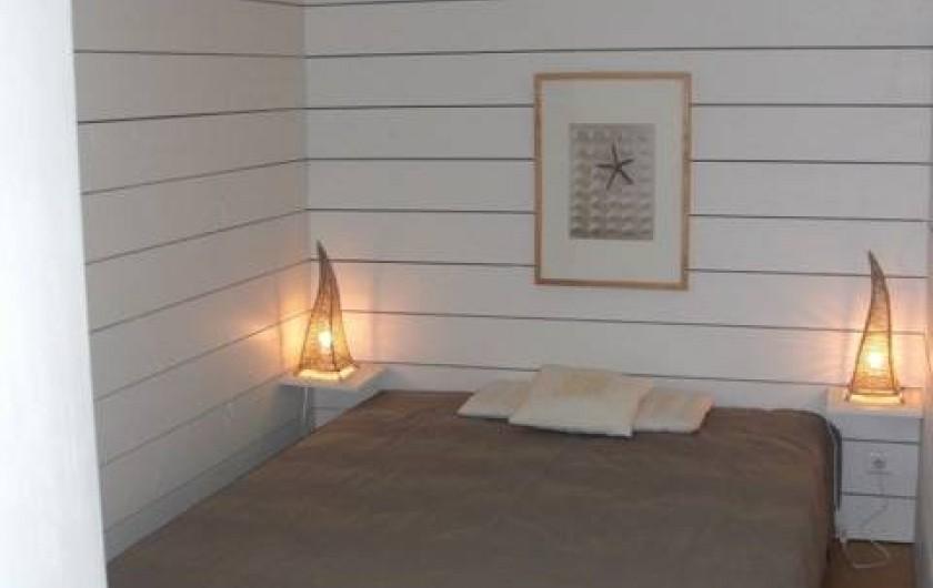 Location de vacances - Chalet à Anthy-sur-Léman - chambre des parents