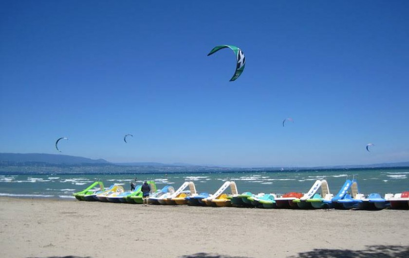 Kite surf Excenevex