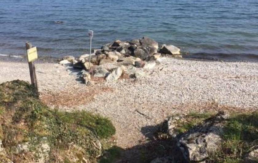 Location de vacances - Chalet à Anthy-sur-Léman - Plage à 5 min à pied
