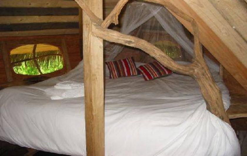Location de vacances - Cabane dans les arbres à Moulicent