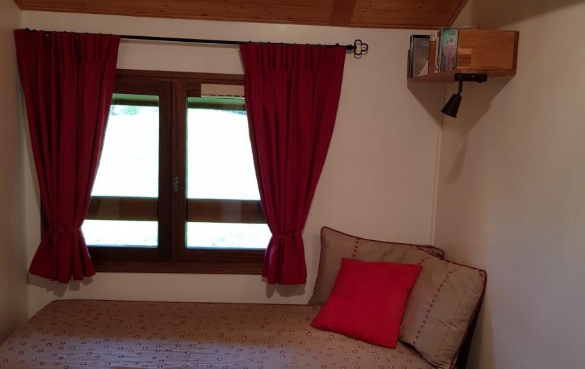 Location de vacances - Appartement à Le Grand-Bornand - Chambre Gigogne  -lit à tiroir pour une couchage supplémentaire 1/2