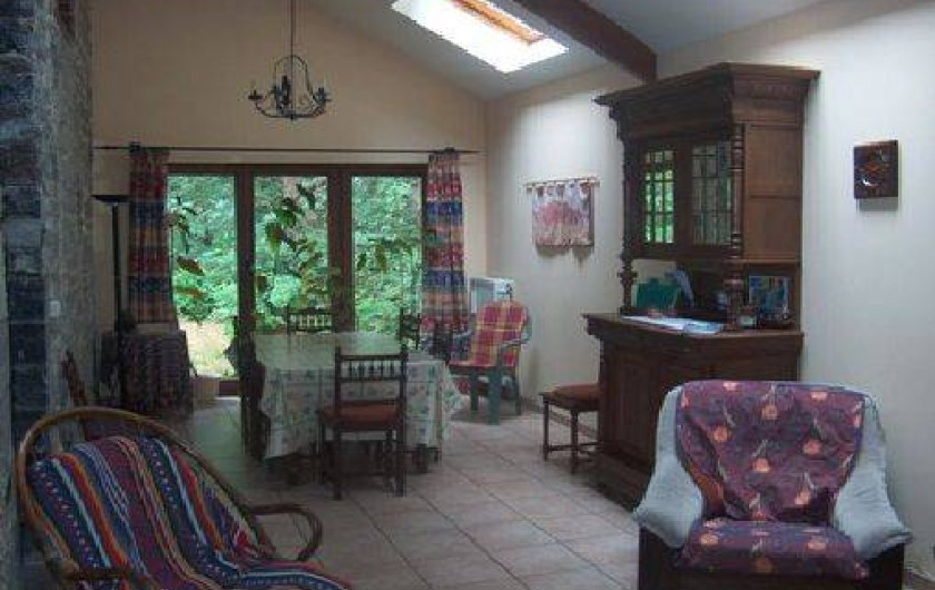 Location de vacances - Gîte à Falaen - Salle à manger