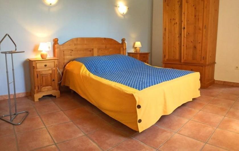 Location de vacances - Gîte à Bédarrides - Chambre avec lit double 140