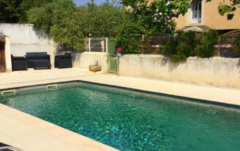 Location de vacances - Gîte à Bédarrides - Piscine privée
