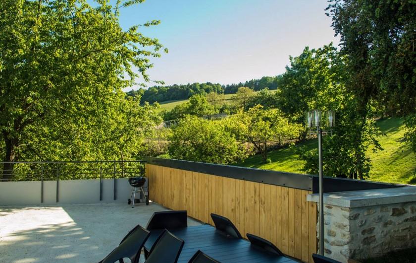 Location de vacances - Gîte à Essômes-sur-Marne - la terrasse   vue sur le vignoble champenois