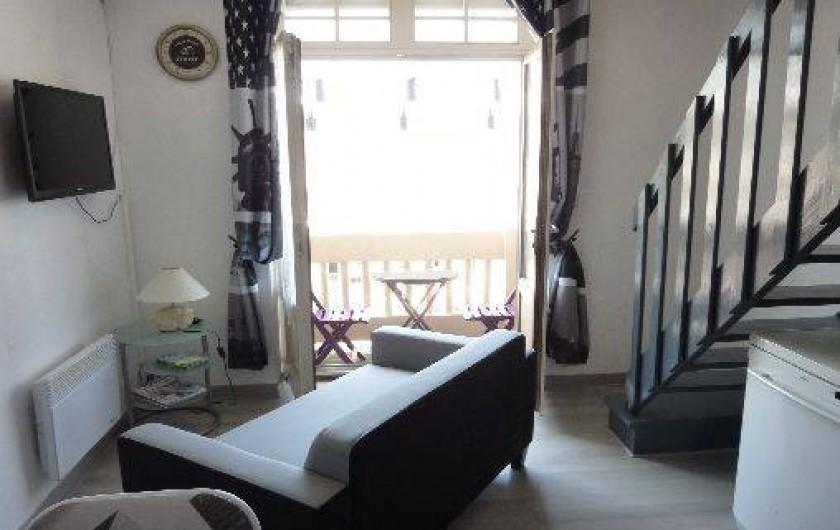 Location de vacances - Appartement à Fort-Mahon-Plage - Séjour