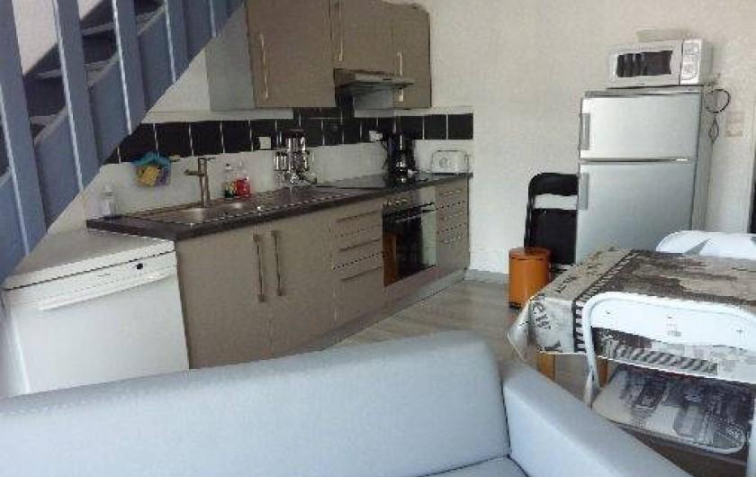 Location de vacances - Appartement à Fort-Mahon-Plage - Cuisine