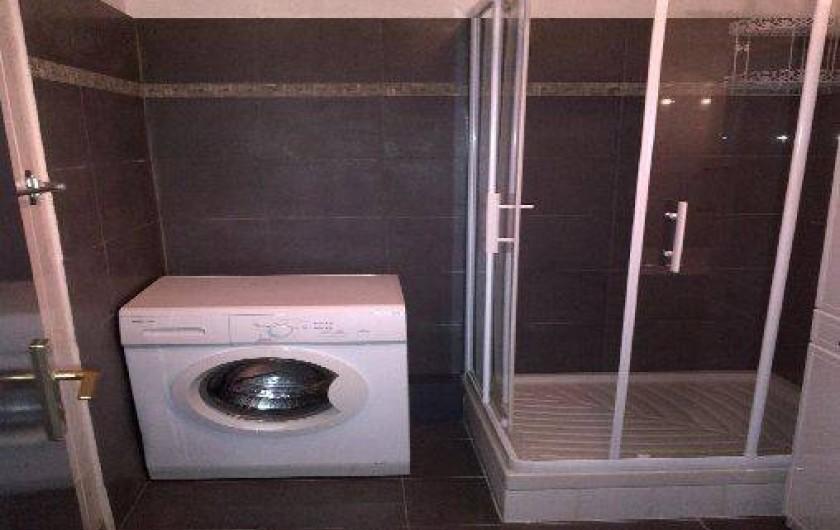 Location de vacances - Appartement à Fort-Mahon-Plage - Salle de douche