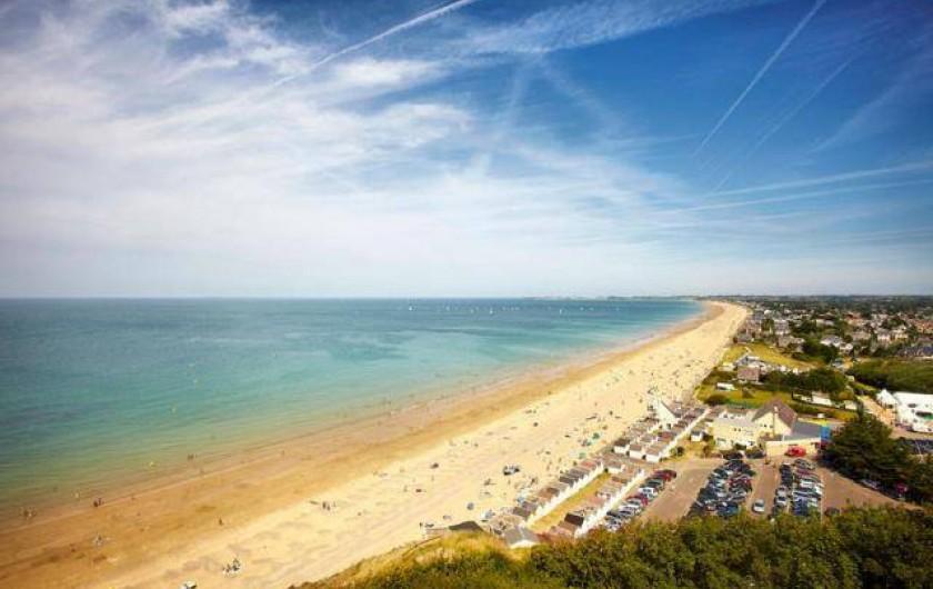 Location de vacances - Appartement à Saint-Pair-sur-Mer - Grande plages de sables fins