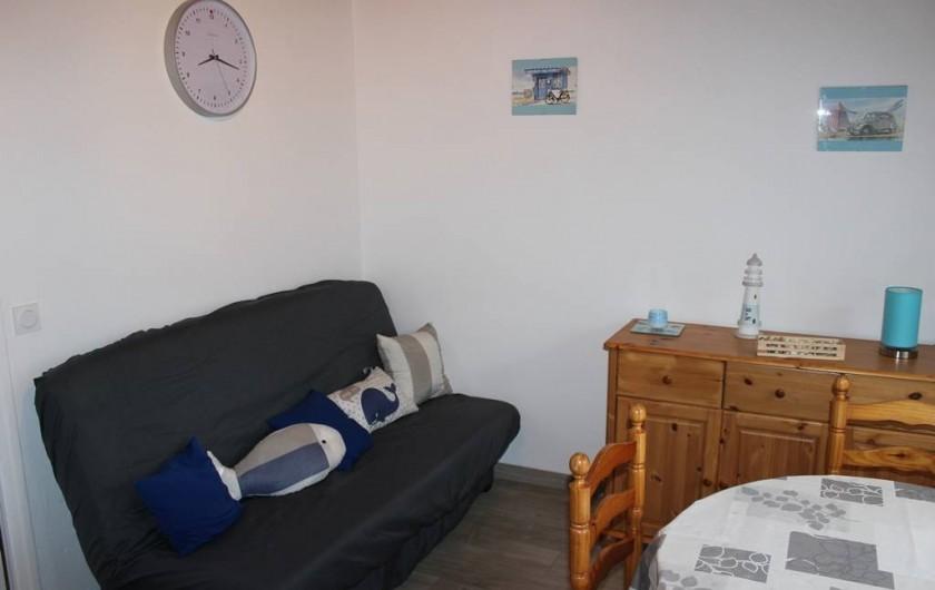 Location de vacances - Appartement à Saint-Pair-sur-Mer - Salon