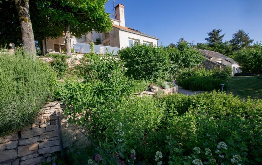Location de vacances - Chambre d'hôtes à Beaune - Le jardin bio
