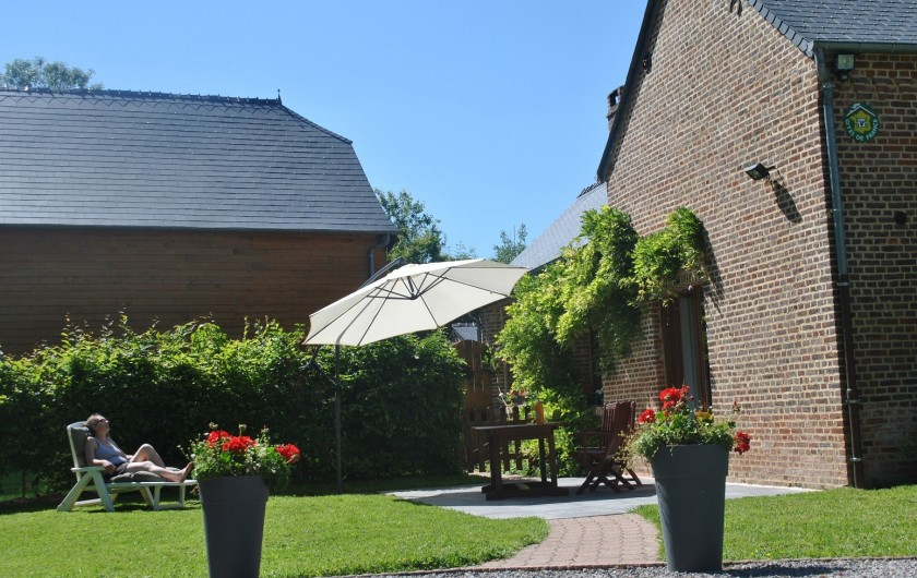 Location de vacances - Gîte à Landouzy-la-ville - Au calme, au coeur de la Thiérache
