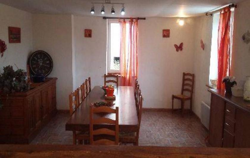 Location de vacances - Gîte à Autun - cuisine ouverte