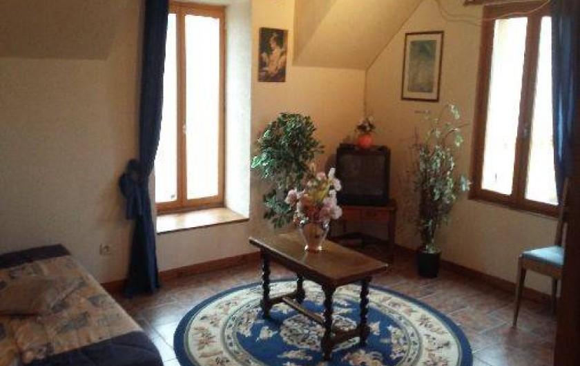 Location de vacances - Gîte à Autun - salon premier étage