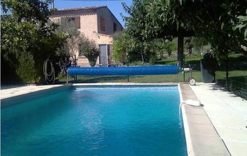 Location de vacances - Maison - Villa à Aix-en-Provence - Piscine