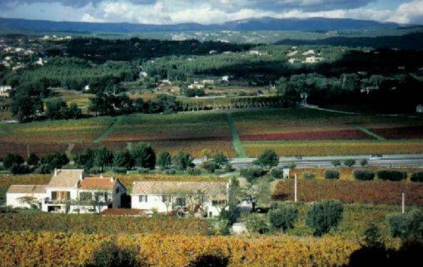 Location de vacances - Chambre d'hôtes à La Cadière-d'Azur