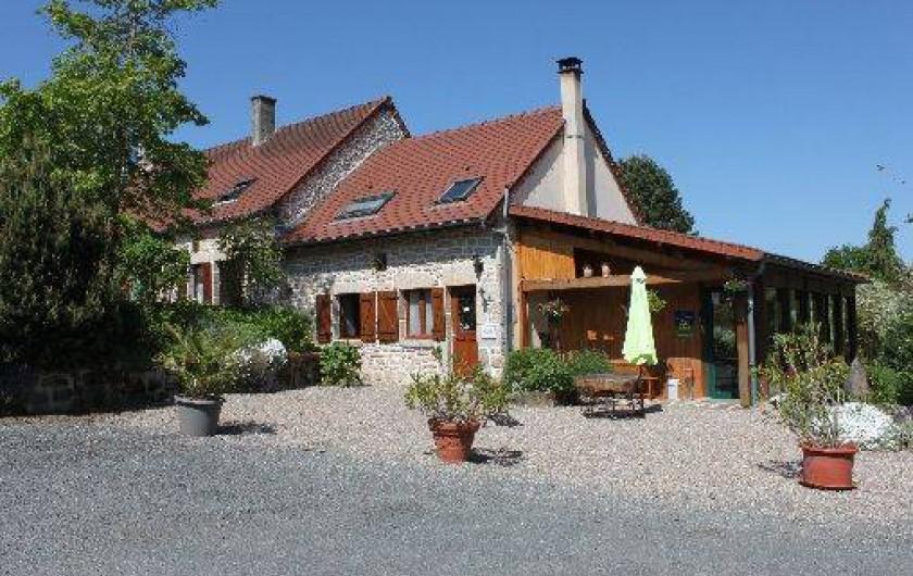 Chambres DHtes  Roches En Creuse Limousin Avec Piscine Dans Un