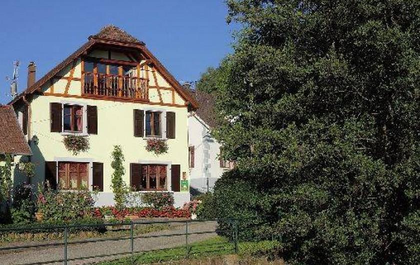 Location de vacances - Gîte à Maisonsgoutte - Le gîte les myrtilles