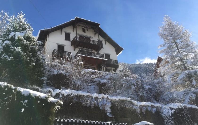Location de vacances - Appartement à Saint-Gervais-les-Bains - Chalet vue face