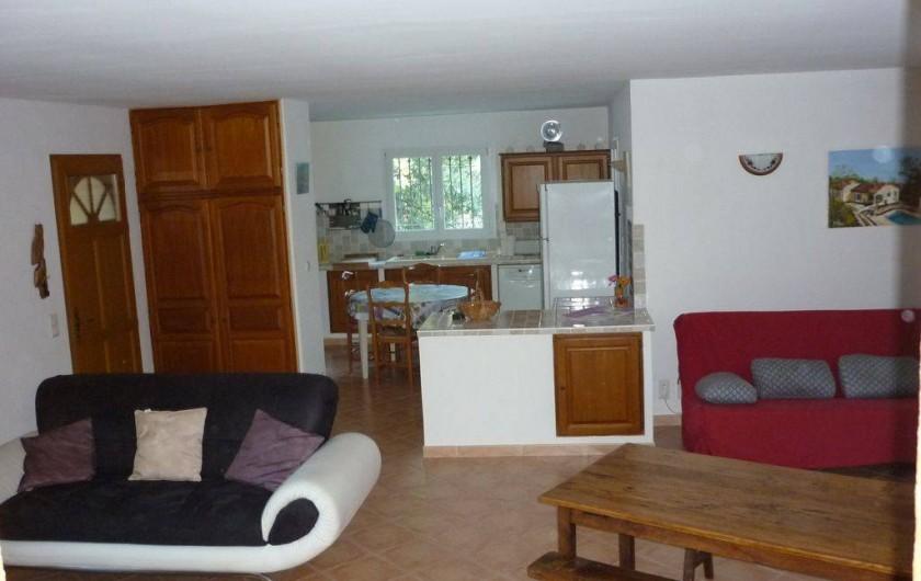 Location de vacances - Villa à Rochegude