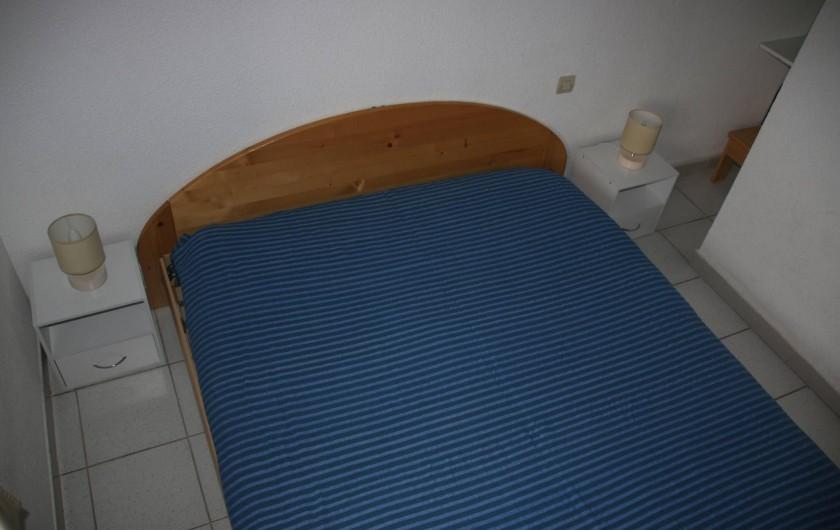 Location de vacances - Villa à Saint-Cyprien Plage - lit de 160