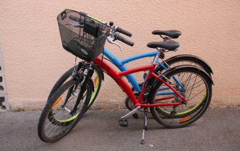 Location de vacances - Villa à Saint-Cyprien Plage - 1 vélo homme et 1 vélo femme