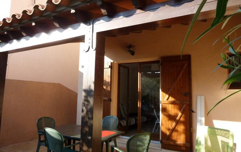 Location de vacances - Villa à Saint-Cyprien Plage - terrasse