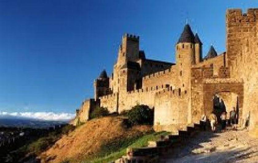 Location de vacances - Chambre d'hôtes à Cuxac-Cabardès - La Cite a Carcassonne