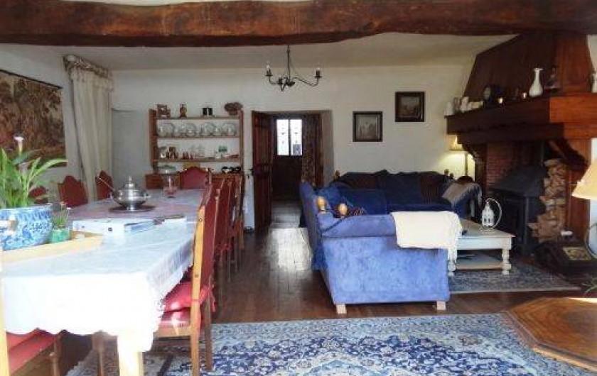 Location de vacances - Chambre d'hôtes à Cuxac-Cabardès - La salon