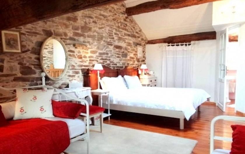 Location de vacances - Chambre d'hôtes à Cuxac-Cabardès - La Chambre de la Rose