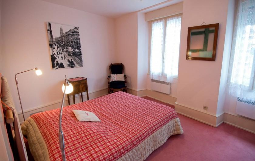 Location de vacances - Appartement à Colmar - La chambre à coucher