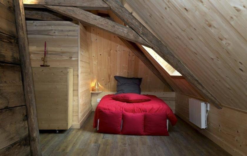 Location de vacances - Gîte à Saint-Pierre-de-Chartreuse - Mezzanine au 2ème étage / lit 1 personne