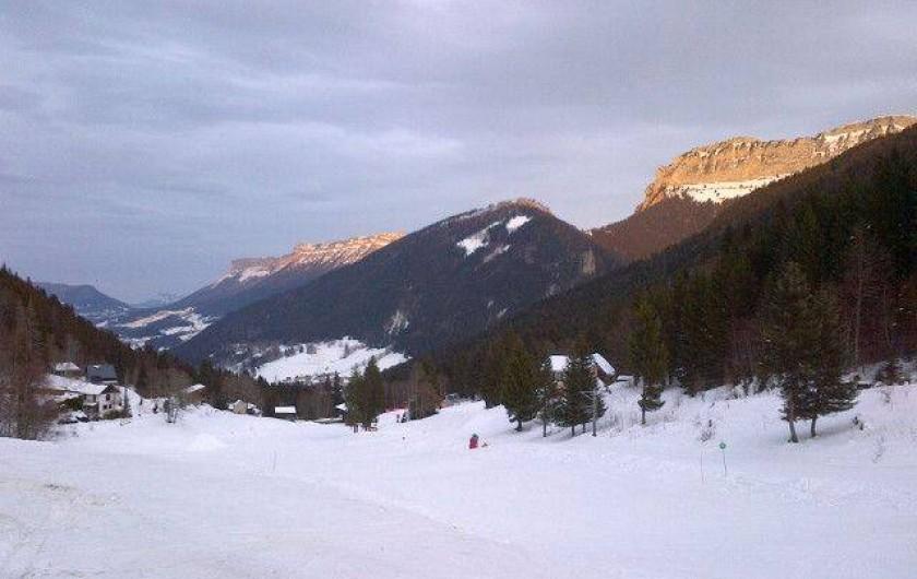 Location de vacances - Gîte à Saint-Pierre-de-Chartreuse - Pistes de ski / Col du Cucheron