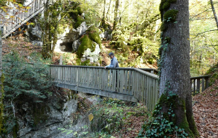 Location de vacances - Gîte à Saint-Pierre-de-Chartreuse - Nombreuses randonnées à faire dans les environs
