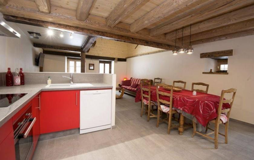 Location de vacances - Gîte à Saint-Pierre-de-Chartreuse - Côté cuisine