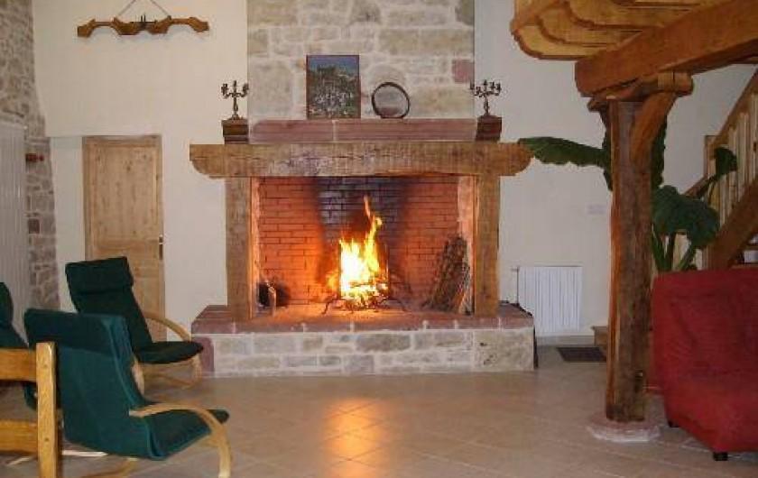 Location de vacances - Gîte à Turenne - le séjour