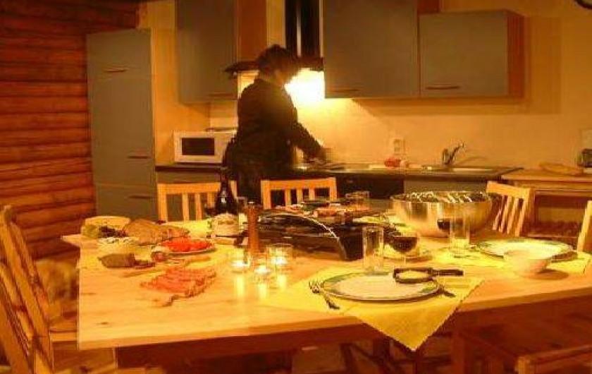 Location de vacances - Chalet à Gérardmer - Une belle cuisine équipée