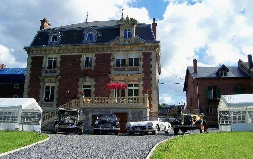 Location de vacances - Château - Manoir à Haybes