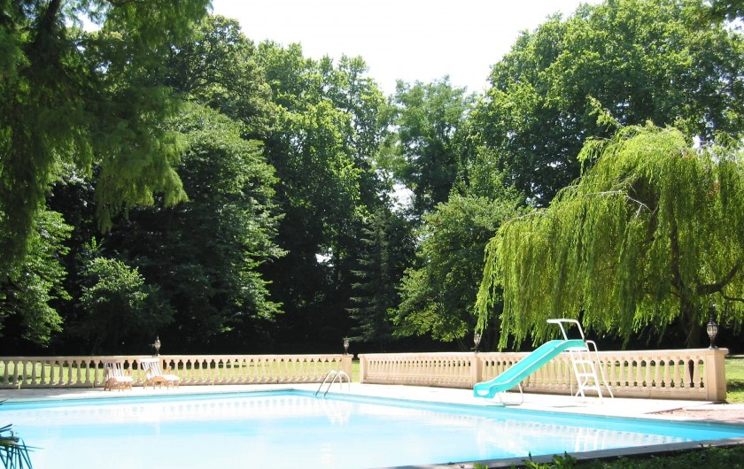 Location de vacances - Chambre d'hôtes à Lamotte-du-Rhône - LA PISCINE