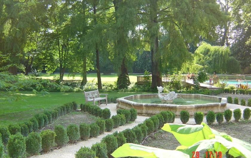 Location de vacances - Chambre d'hôtes à Lamotte-du-Rhône - LE BASSIN