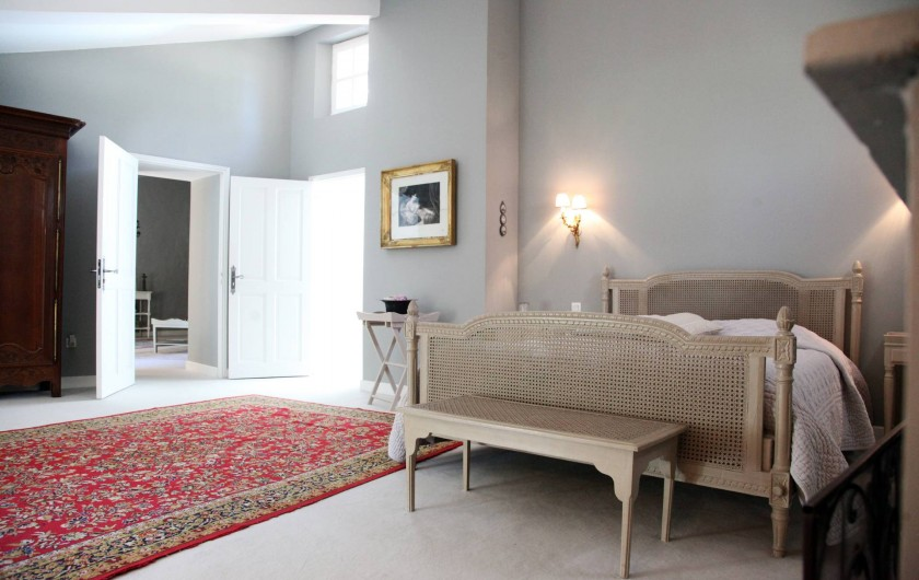 Location de vacances - Chambre d'hôtes à Lamotte-du-Rhône - SUITE GRIGNAN