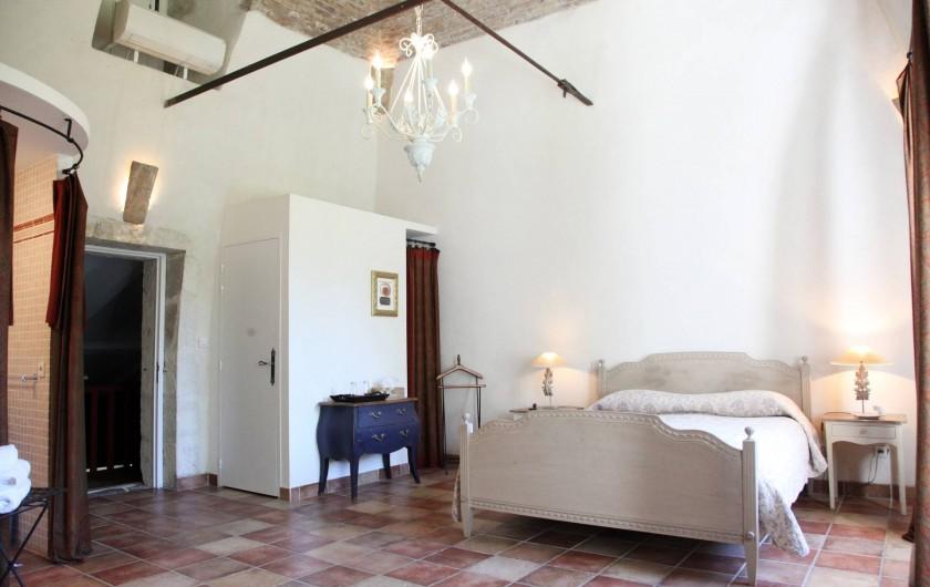 Location de vacances - Chambre d'hôtes à Lamotte-du-Rhône - CHAMBRE DELA TOUR