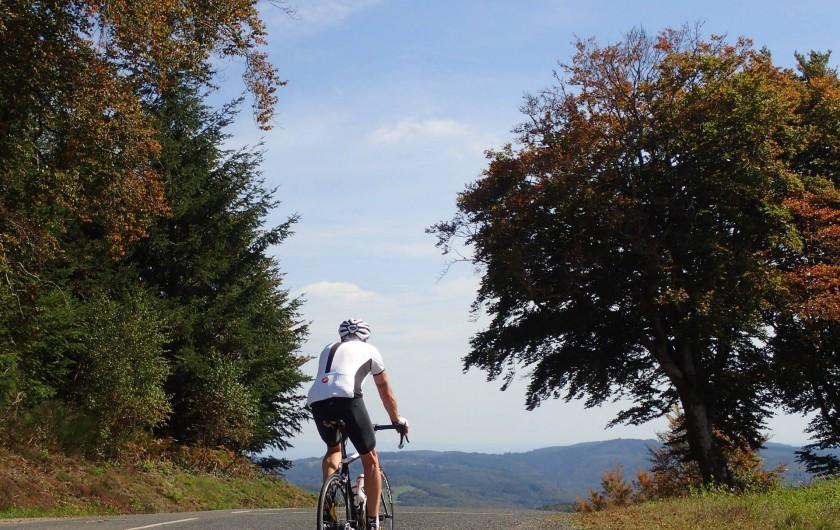Location de vacances - Gîte à Saint-Hilaire-les-Courbes - Faire du vélo.....