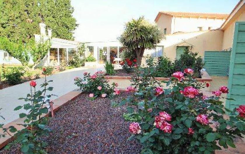 Location de vacances - Chambre d'hôtes à Ortaffa - Entrée Mas du Tech