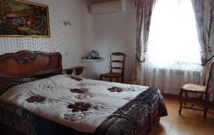 Location de vacances - Chambre d'hôtes à Ortaffa - Chambre D