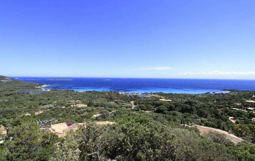 Location de vacances - Maison - Villa à Porto-Vecchio - Baie de Palombaggia