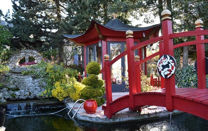 Location de vacances - Villa à Pierre-Châtel - Bassin  , pont maison de thé cascade